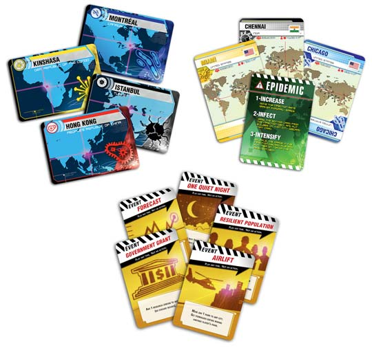 Pandemic 2nd edition cards