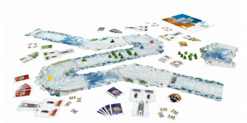Snow Tails game in play