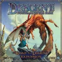 Descent: The Road to Legend - Board Game Box Shot