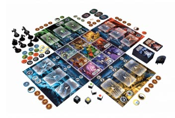 Ghost Stories game in play