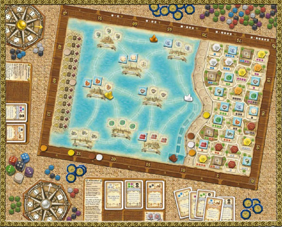 Macao game board