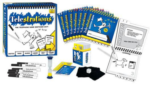 Telestrations-components
