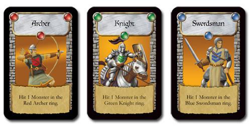 Castle Panic Cards
