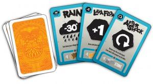 Eruption cards