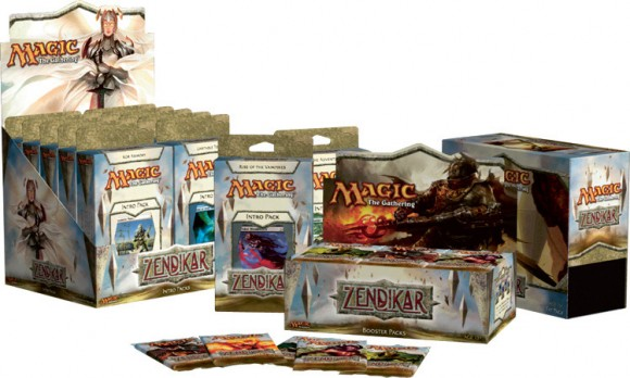 Magic: The Gathering - Zendikar boxes