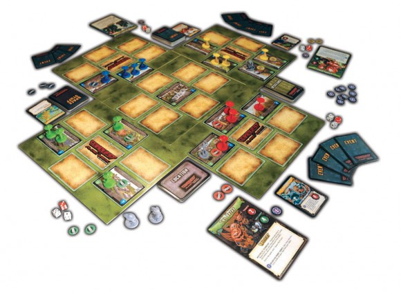 Conquest of Planet Earth game in play