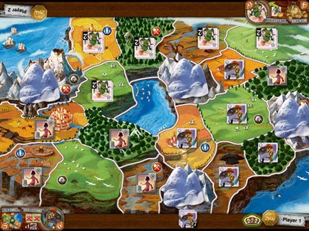 Small World iPad board screen