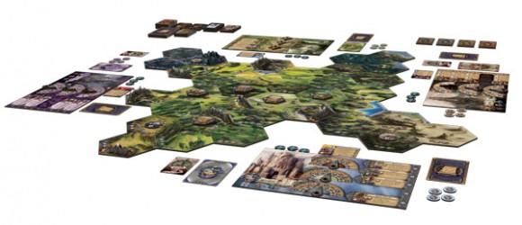 Runewars game in play