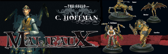 Malifaux: The Guild crew