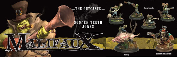 Malifaux: The Outcasts crew