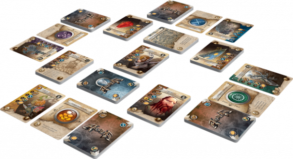 Arcana Revised Edition game in play