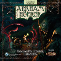 Arkham Horror: Innsmouth Horror - Board Game Box Shot