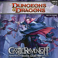 Dungeons & Dragons: Castle Ravenloft Board Game - Board Game Box Shot