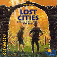 Lost Cities: The Card Game - Board Game Box Shot