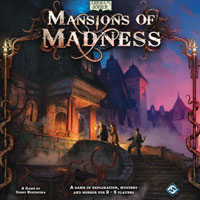 Mansions of Madness (1st ed) - Board Game Box Shot