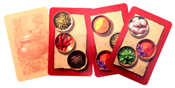 Safranito spice blend cards