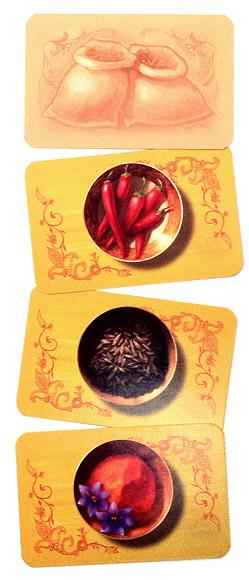 Safranito spice cards