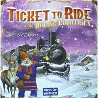 Ticket to Ride: Nordic Countries - Board Game Box Shot