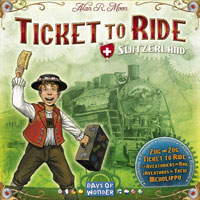 Ticket to Ride: Switzerland - Board Game Box Shot