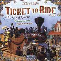 Ticket to Ride: The Card Game - Board Game Box Shot