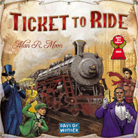 Ticket to Ride - Board Game Box Shot