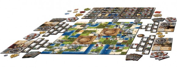 Civilization game in play