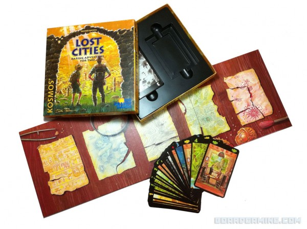 Lost Cities - box and contents