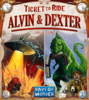 Ticket to Ride: Alvin & Dexter - Board Game Box Shot