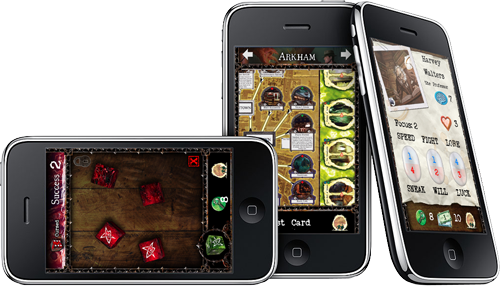 Arkham Horror Toolkit for iPhone