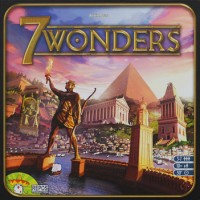 7 Wonders - Board Game Box Shot
