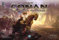 Age of Conan - Board Game Box Shot