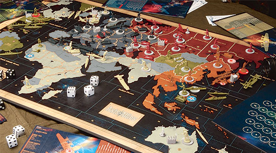 Axis and Allies contents