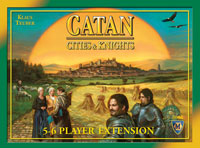Catan: Cities & Knights – 5-6 Player Extension - Board Game Box Shot
