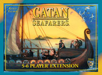 Catan: Seafarers – 5-6 Player Extension - Board Game Box Shot