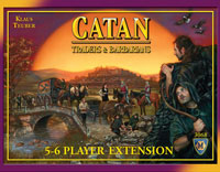 Catan: Traders & Barbarians – 5-6 Player Extension - Board Game Box Shot