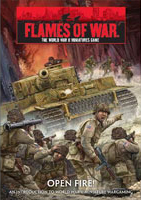 Flames of War: Open Fire! – Starter Set - Board Game Box Shot
