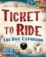 Ticket to Ride: The Dice Expansion - Board Game Box Shot