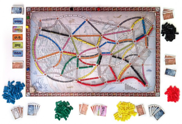 Ticket to Ride contents