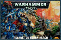 Warhammer 40,000: Assault on Black Reach - Board Game Box Shot
