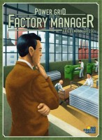 Power Grid: Factory Manager - Board Game Box Shot