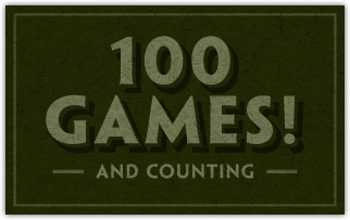 BG 100 games and counting
