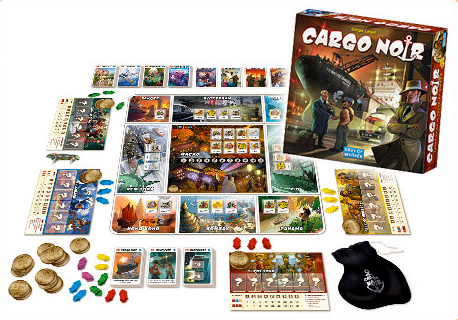 Cargo Noir Box and Contents