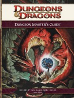 Dungeons & Dragons (4ed): Dungeon Master's Guide - Board Game Box Shot