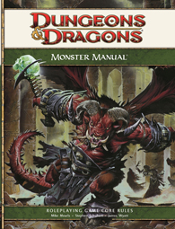 Dungeons & Dragons: Monster Manual 4ed
