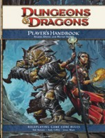 Dungeons & Dragons (4ed): Player's Handbook - Board Game Box Shot