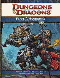 Dungeons and Dragons Players Handbook 4ed