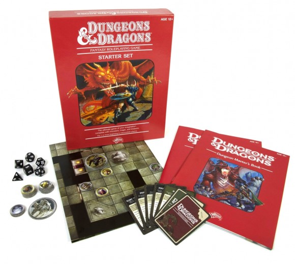 Dungeons & Dragons: Starter Set contents