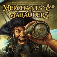 Merchants & Marauders - Board Game Box Shot