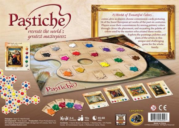 Pastiche contents - box image