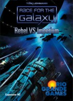 Race for the Galaxy: Rebel vs Imperium - Board Game Box Shot